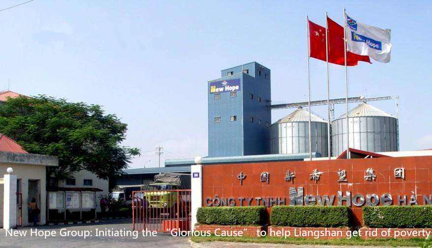 "New Hope Group: Initiating the ""Glorious Cause"" to help Liangshan get rid of poverty"
